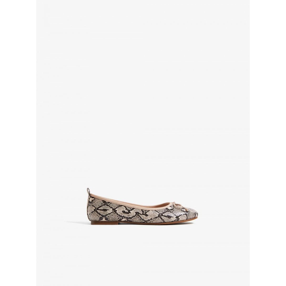 Zara Snake Print Ballerina