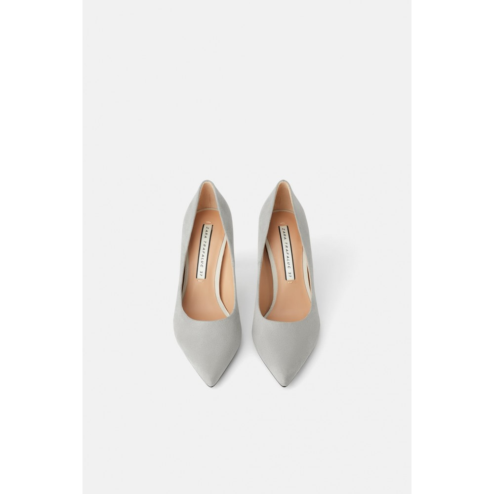 Zara Round Heeled Shoes