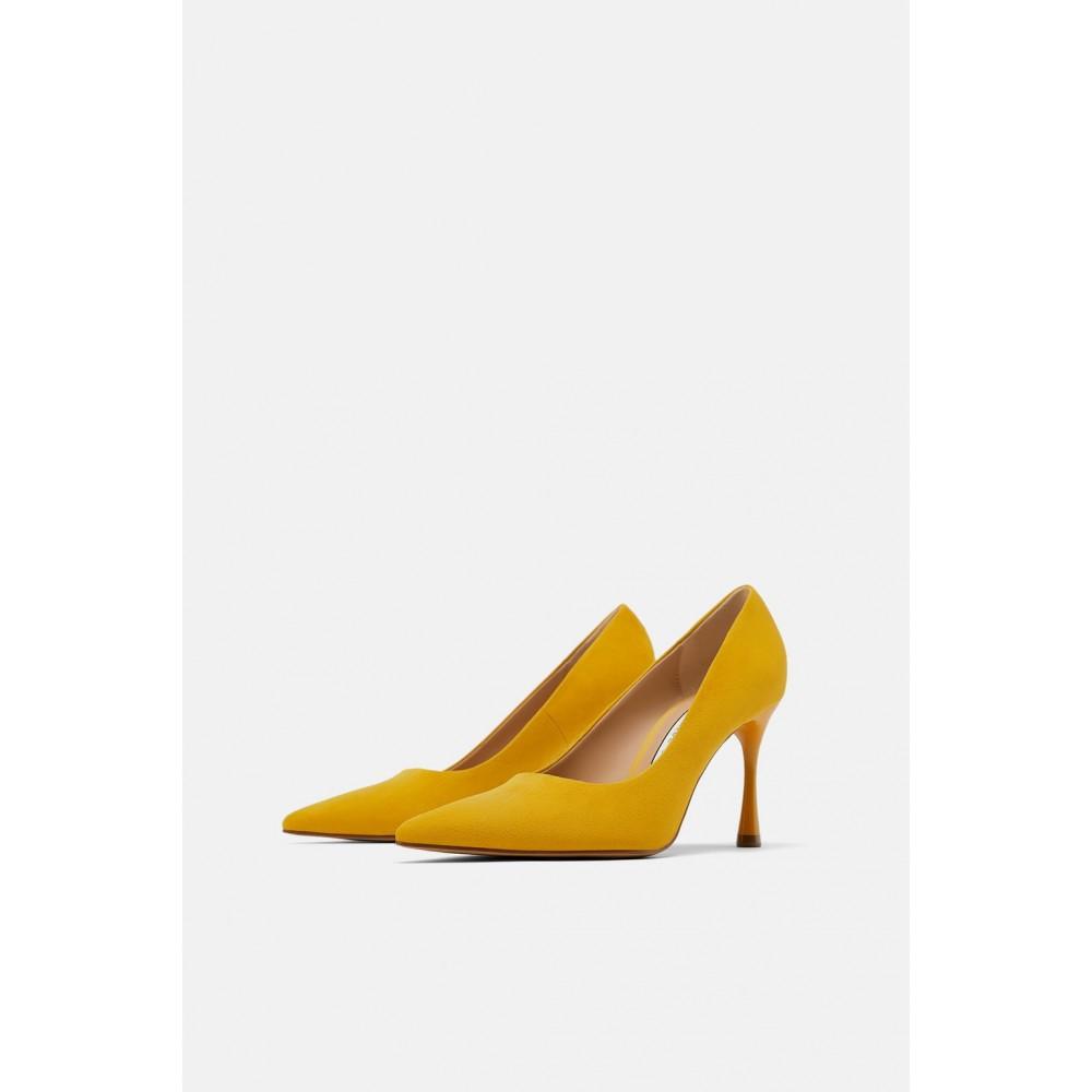 Zara Round Heeled Shoes