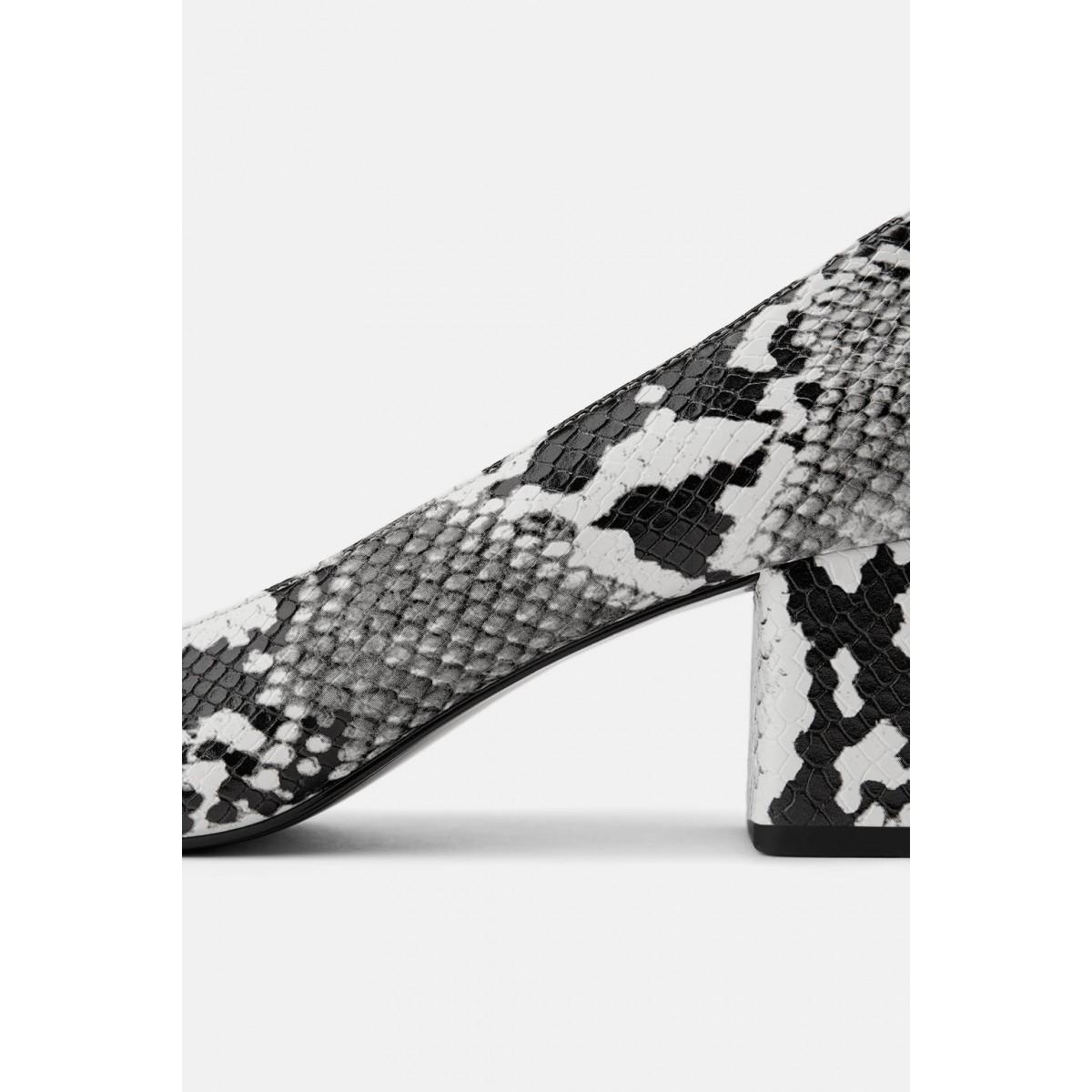 Zara Block-Heel Shoes
