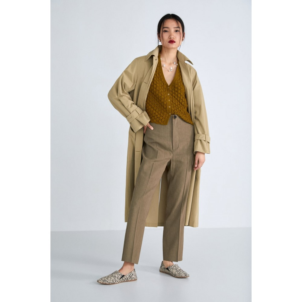 Zara Fabric Moroccan Babouchesdetails