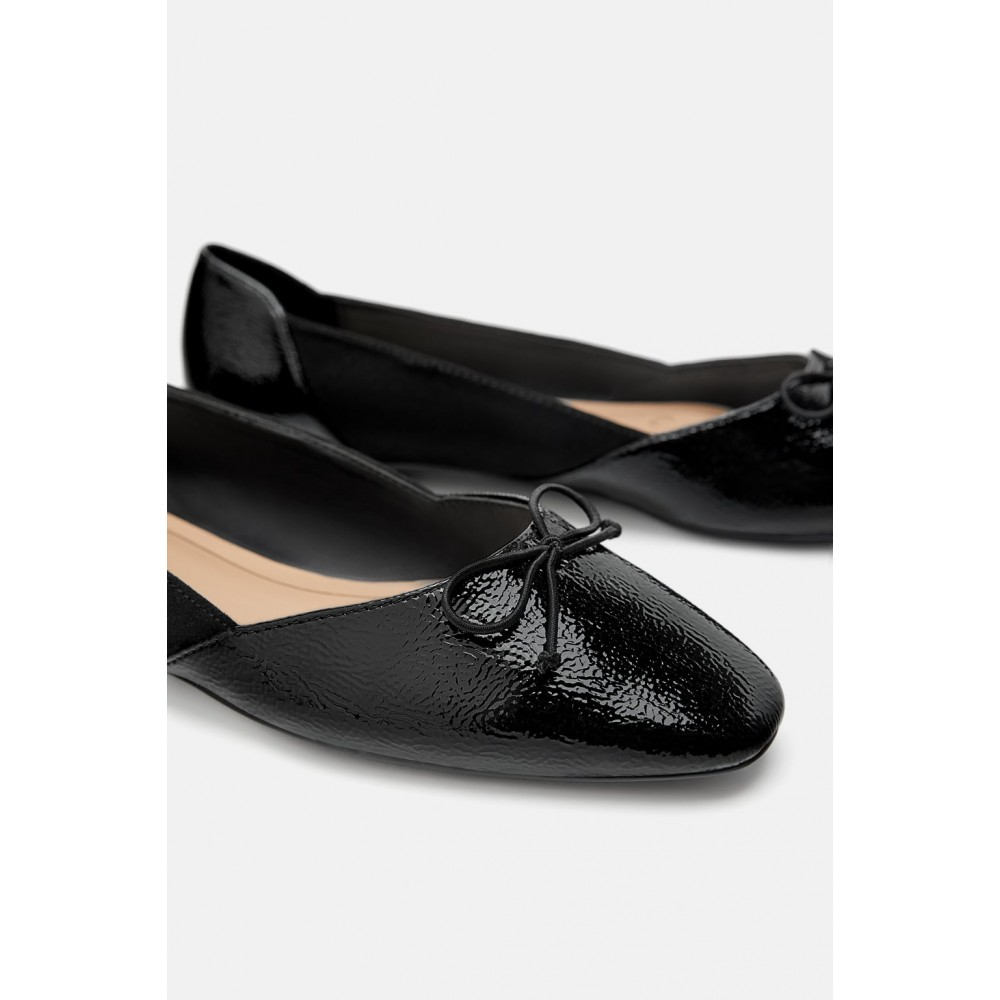 Zara Women's Ballerinas With Bow