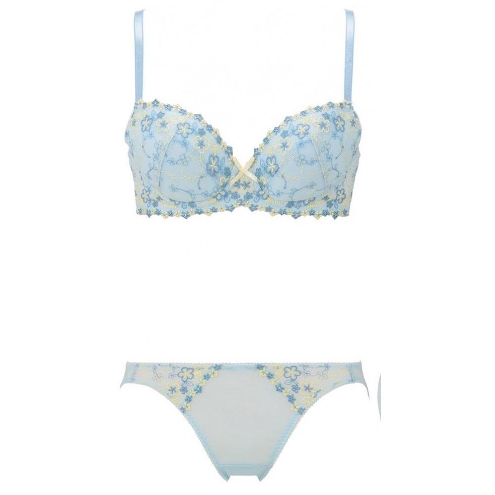 Triumph Amostyle Floral Set (Blue)