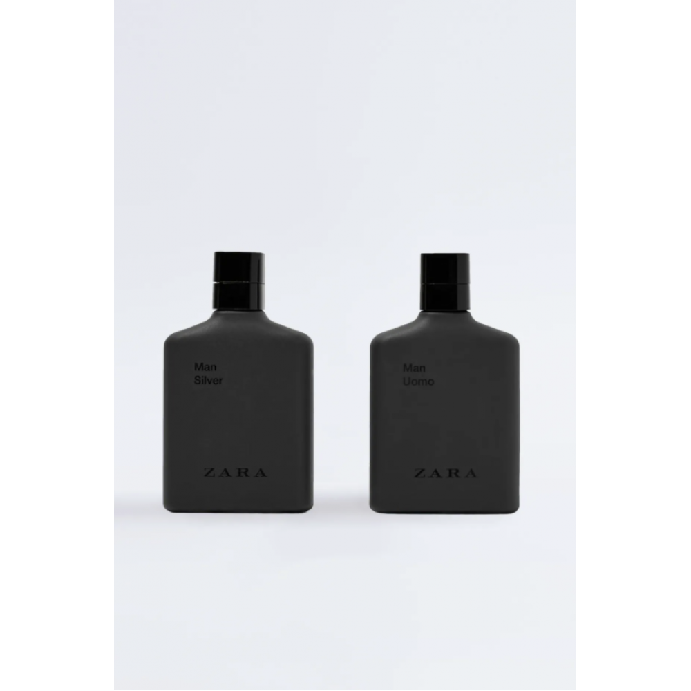 Zara Man Uomo 100 Ml + Man Silver 100 Ml