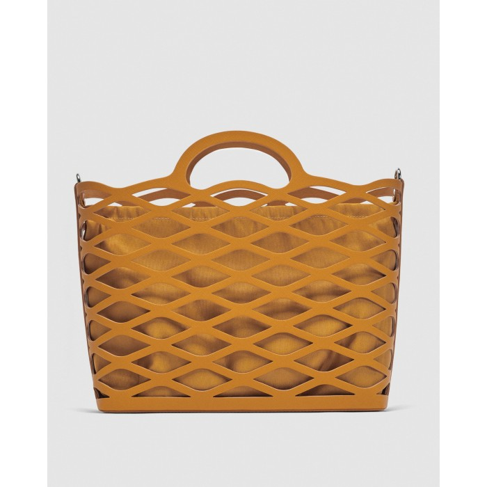 Zara Die-Cut Tote Bag