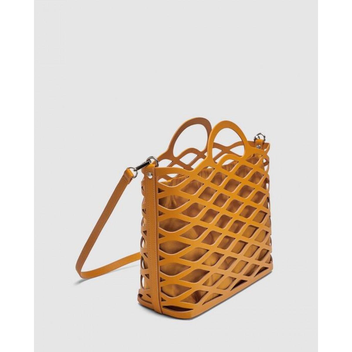 Zara Die-Cut Tote Bag