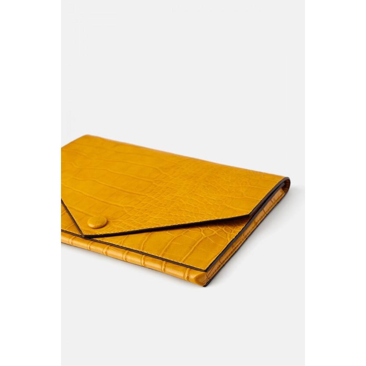 Zara Animal Print Clutch