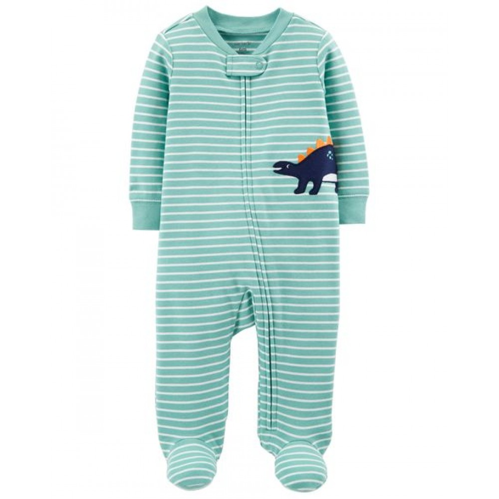 Carter's Dinosaur Zip-Up Cotton Sleep & Play