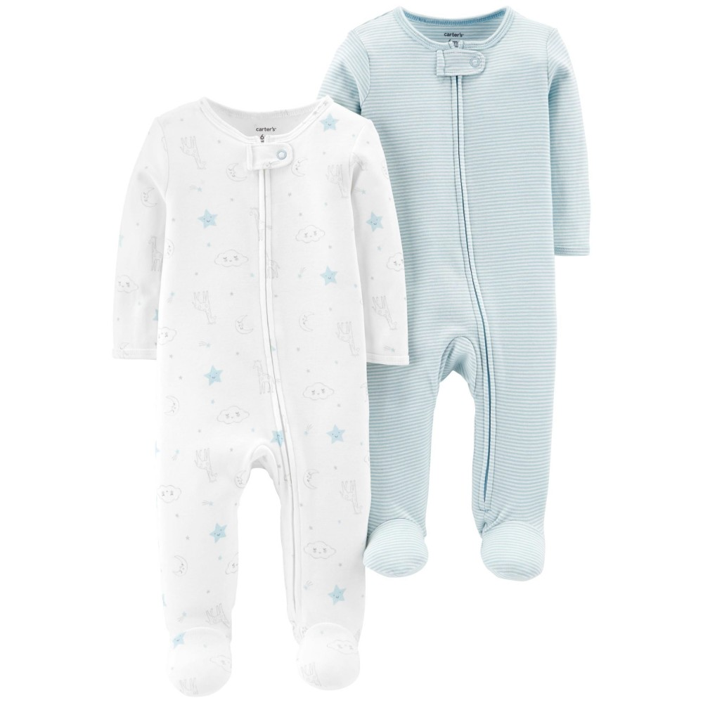 Carter's 2-Pack Zip-Up Cotton Sleep & Play