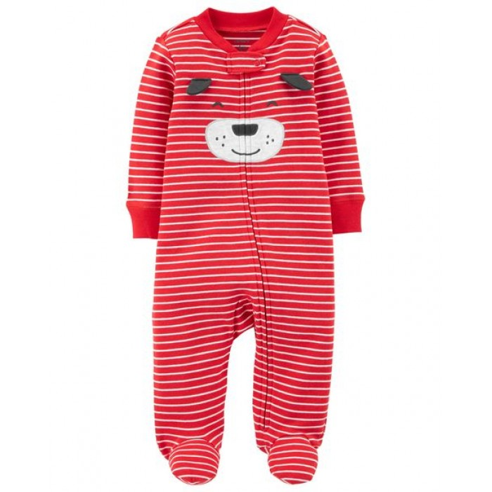 Carter's Dog Zip-Up Cotton Sleep & Play