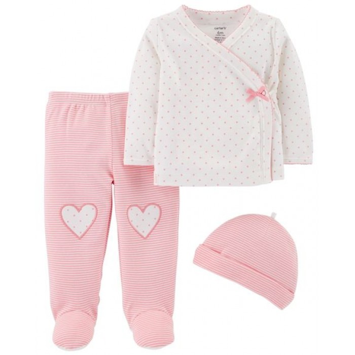 Carter's 3-Piece Footed Pant Set