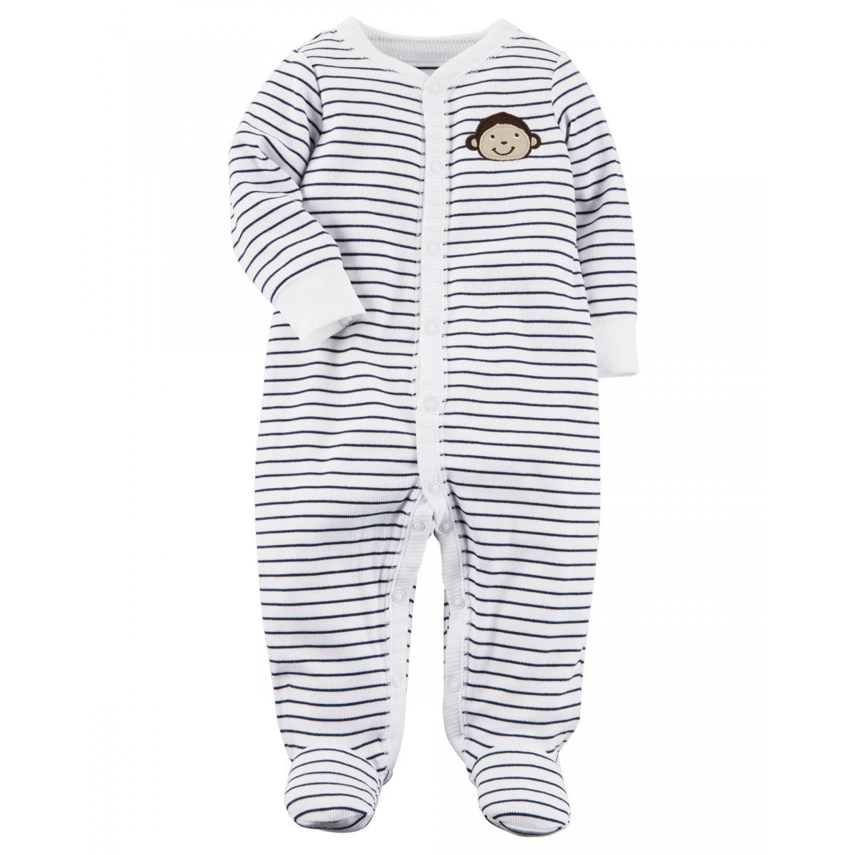 Carter's Monkey Snap-Up Cotton Sleep & Play