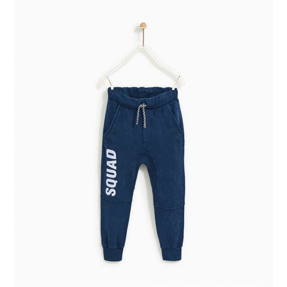 Zara Plush Jersey Jogging Trousers