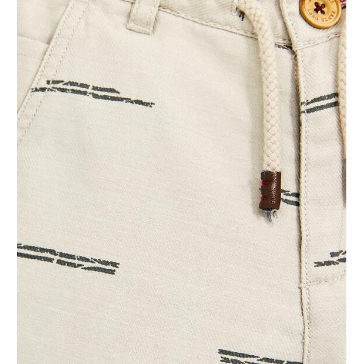 Zara Printed Bermuda Shorts