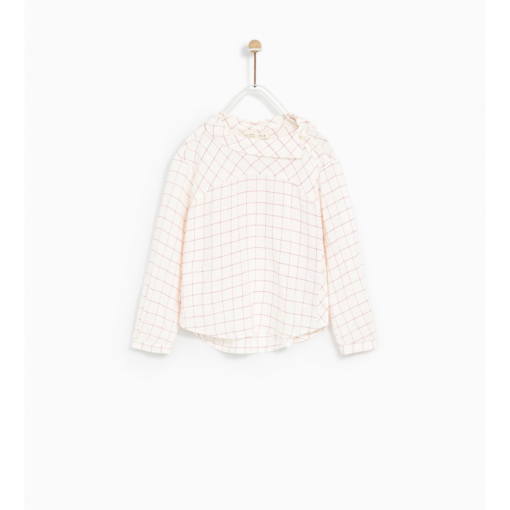 Zara Checked Shirt With Buttons