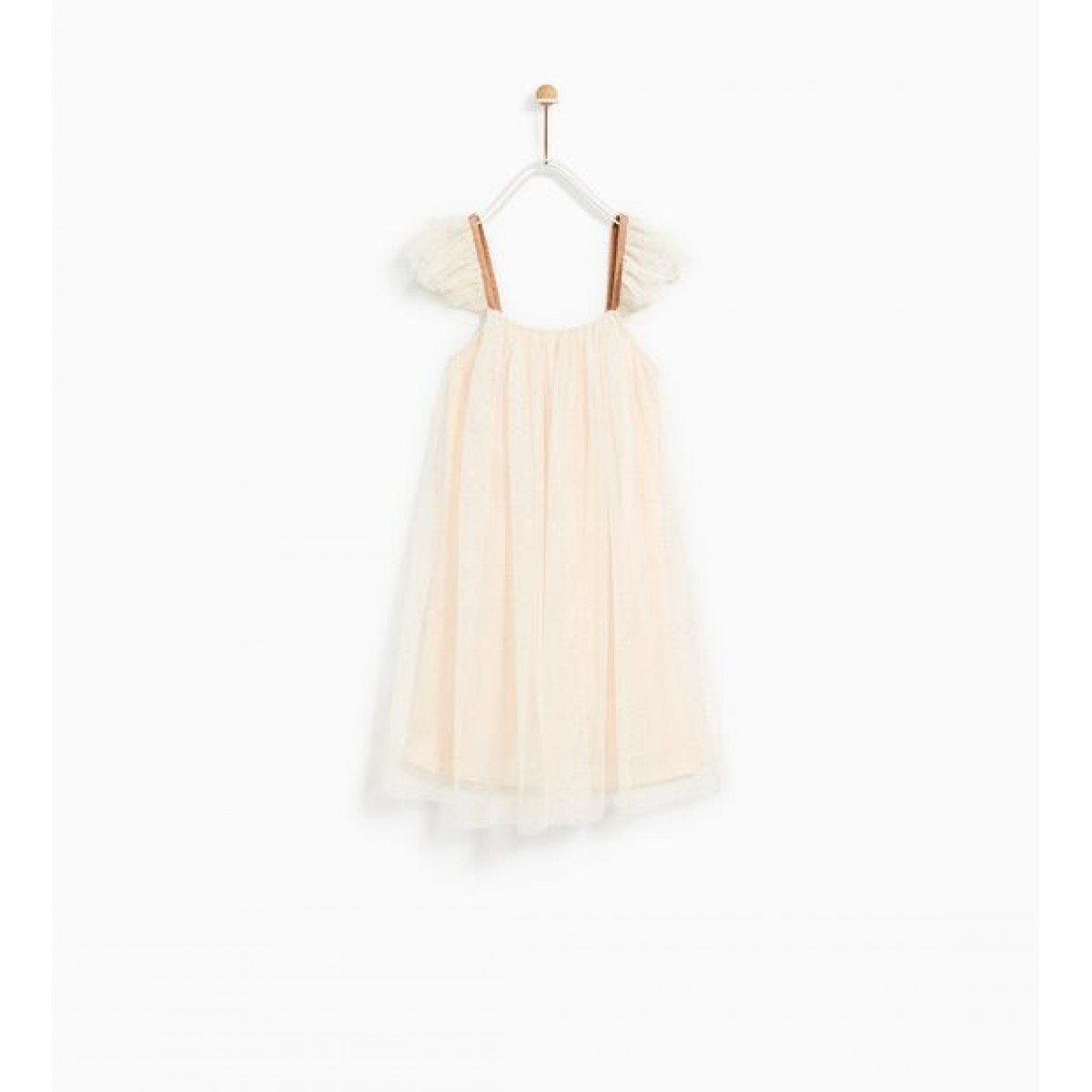 Zara Shiny Tulle Dress