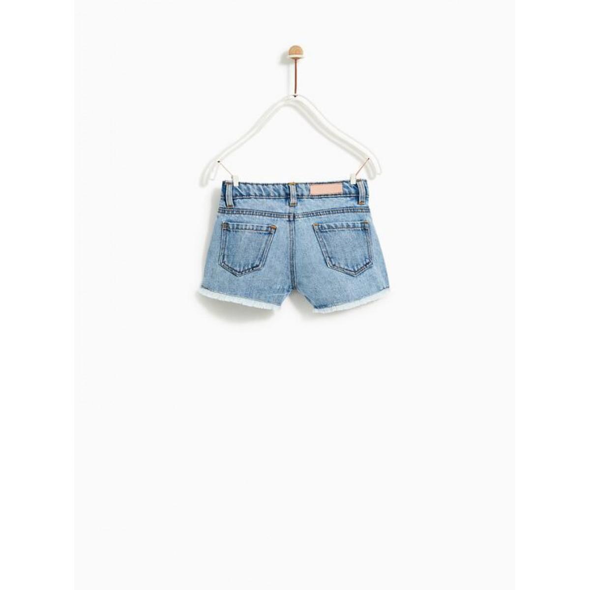 Zara Sequinned Bermuda Shorts