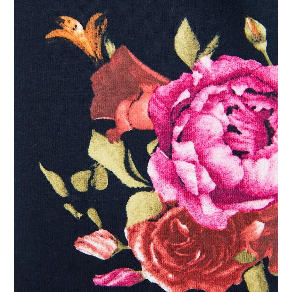 Zara Floral Jersey Trouser