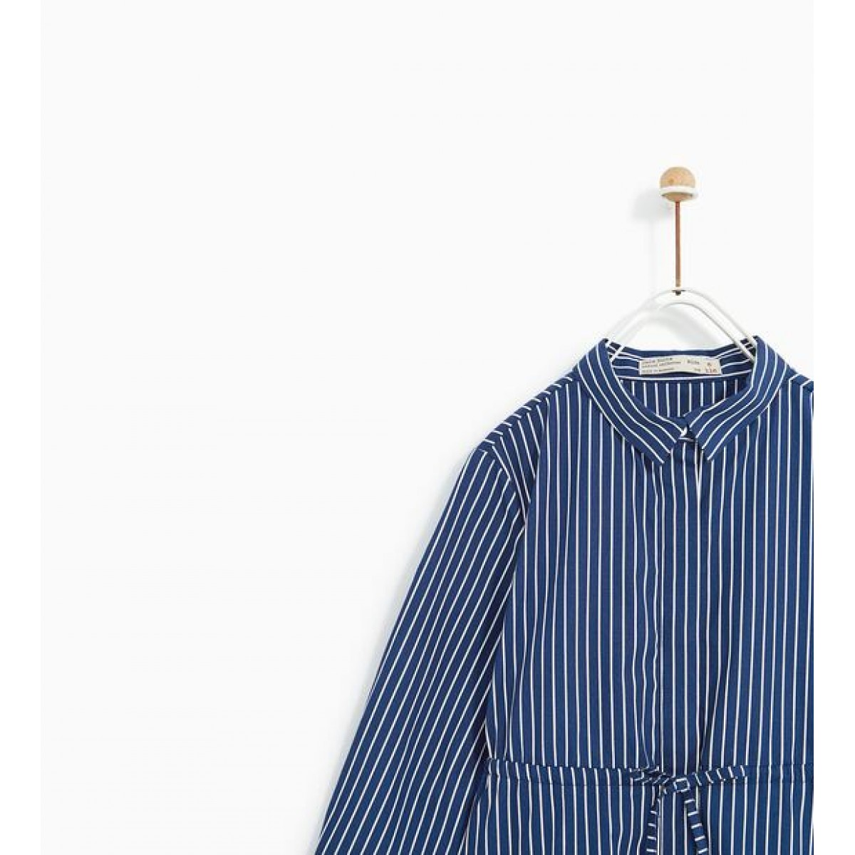 Zara Stripped Shirt Dress