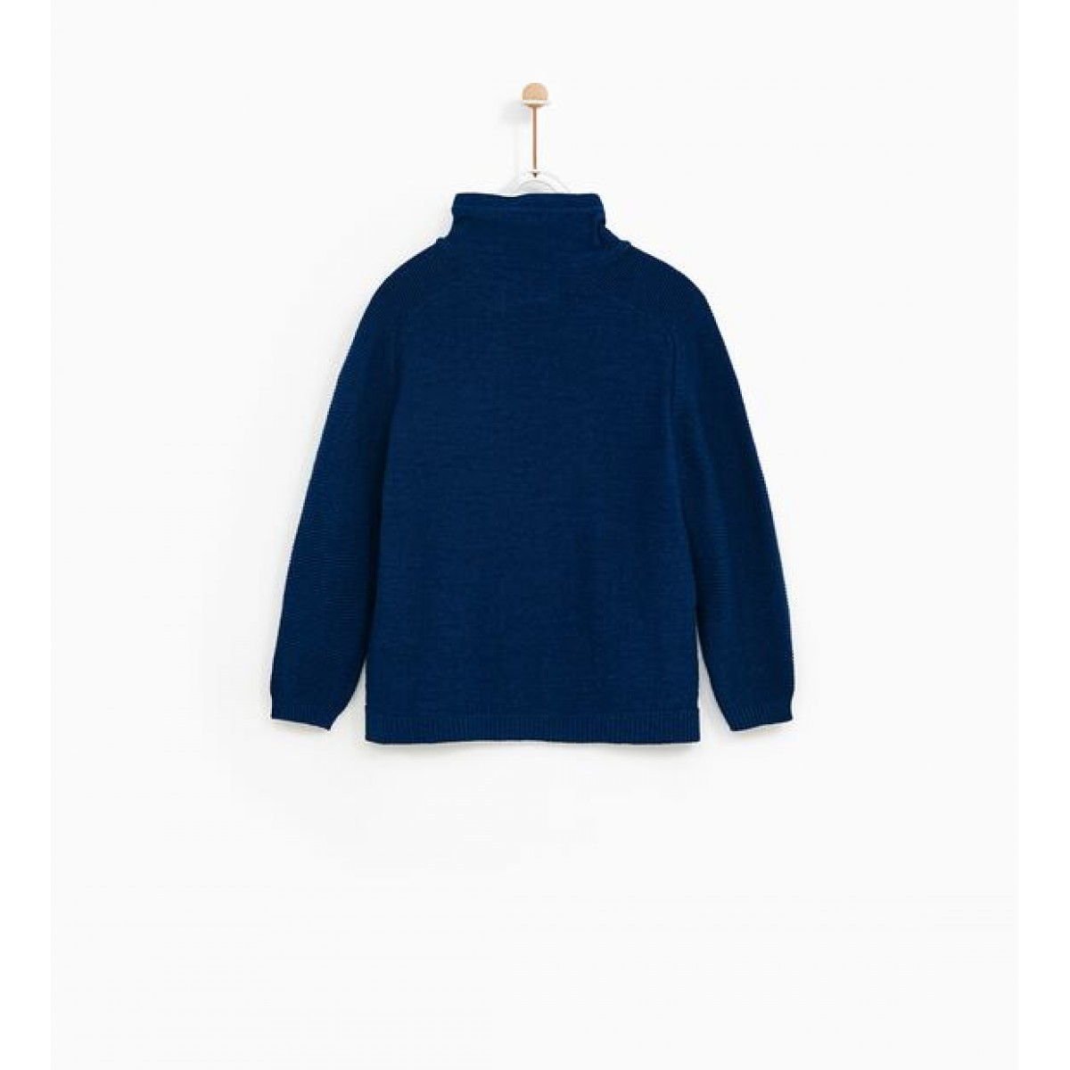 Zara Sweater With Wraparound Turtleneck