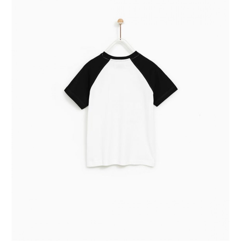 Zara Pic Of The Day' Slogan T-Shirt