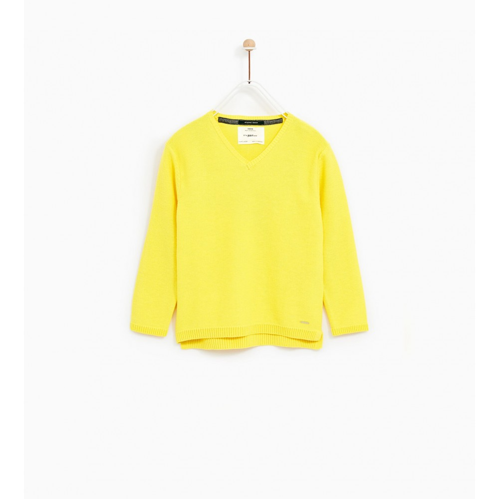 Zara Basic V-Neck Sweater