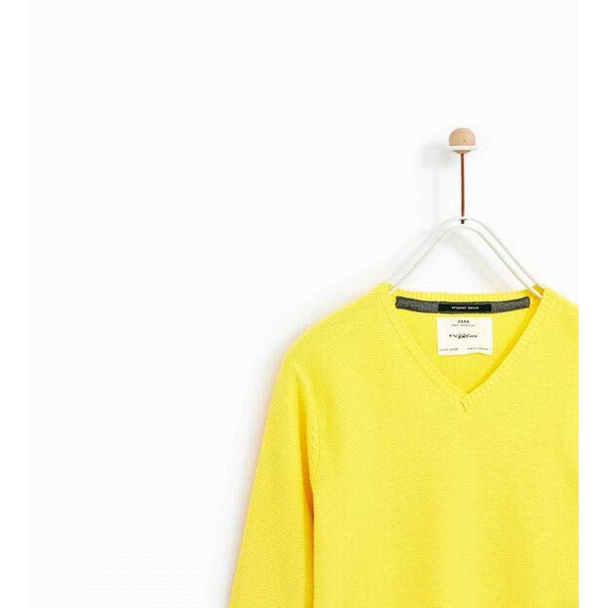 Zara Basic V-Neck Sweater