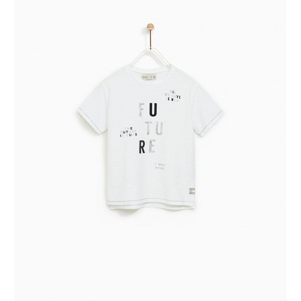 Zara Future' Slogan T-Shirt