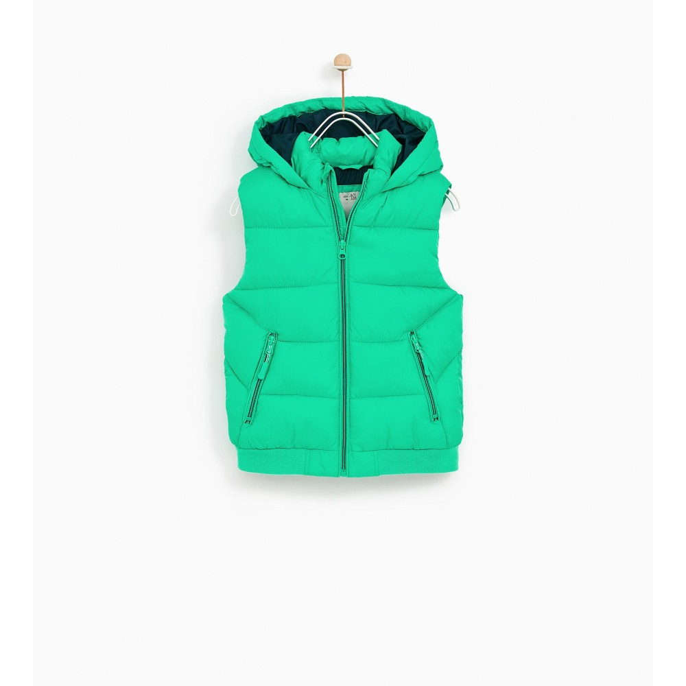 Zara Basic Vest (Green)