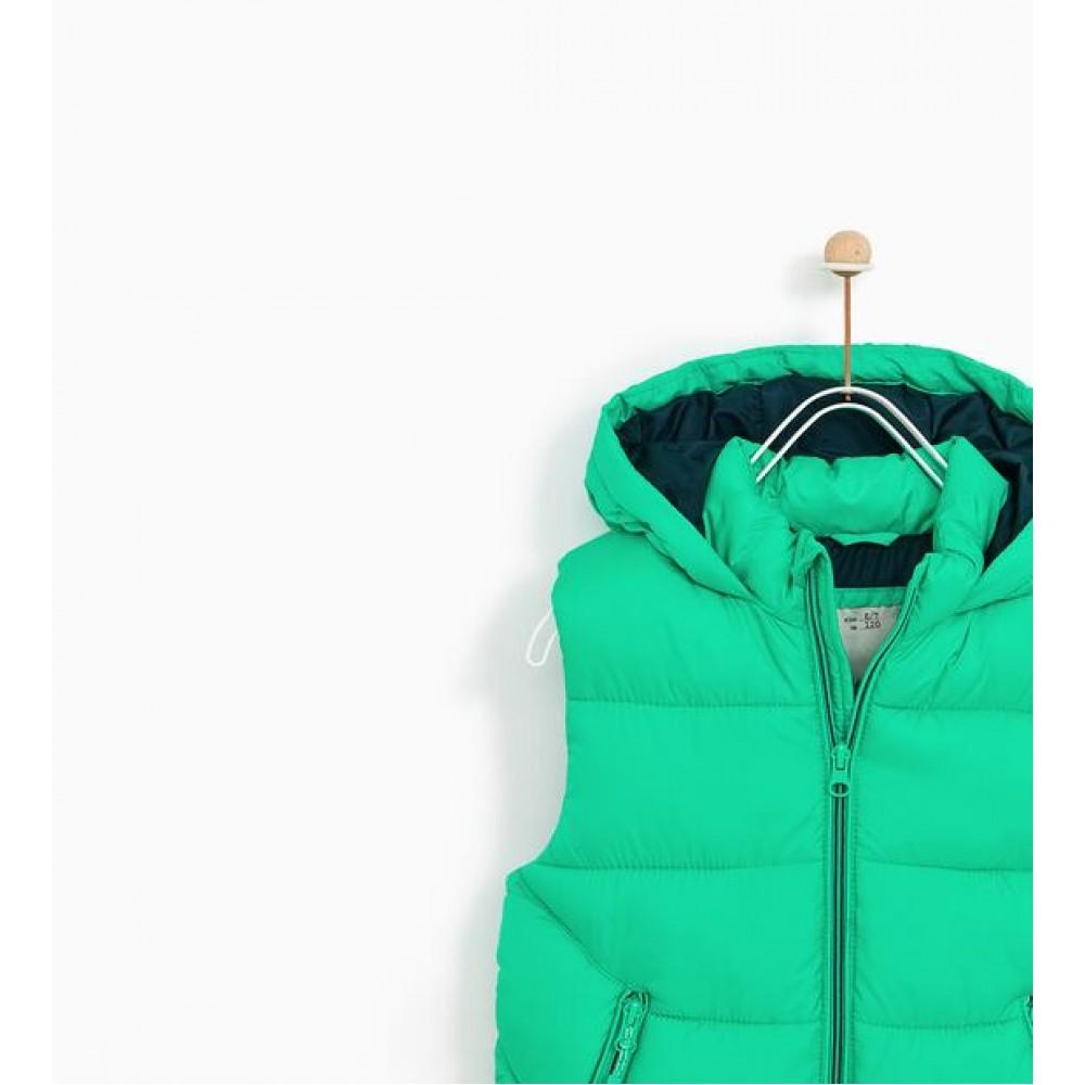 Zara Basic Vest (Green)
