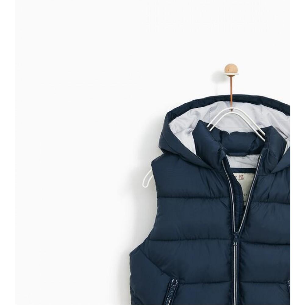 Zara Basic Vest (Dark Blue)