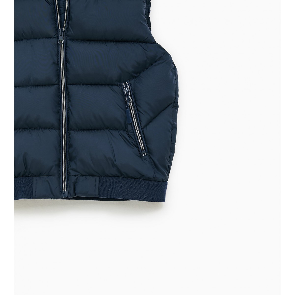Zara Basic Vest (Dark Blue)