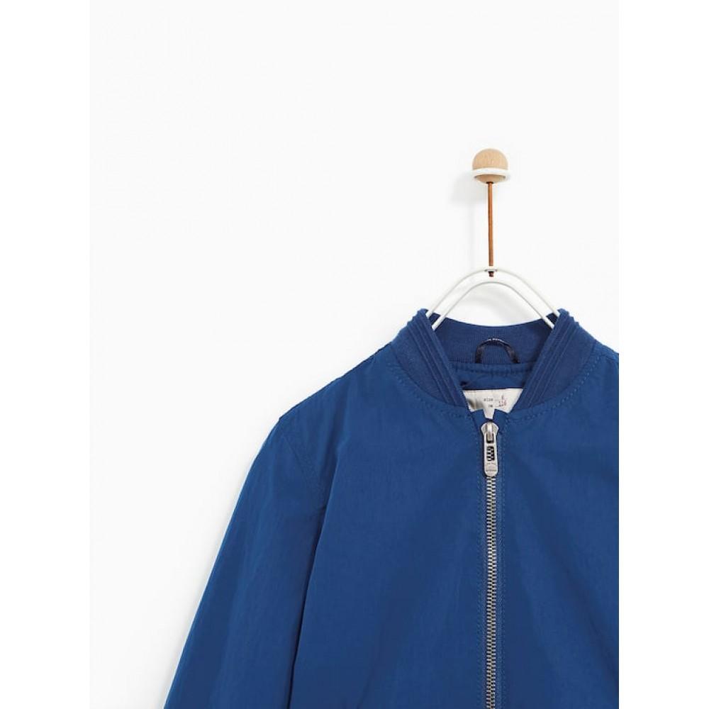 Zara Basic Bomber Jacket