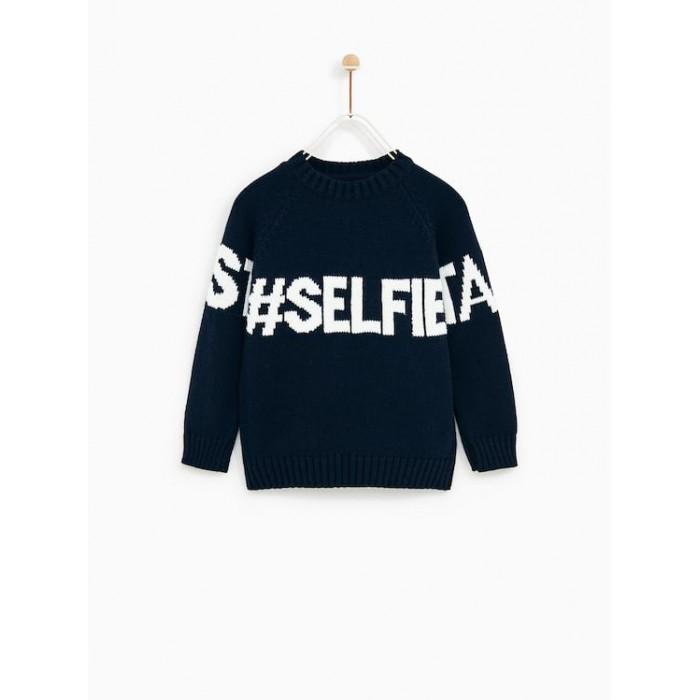 Zara Take Your Best Selfie Sweater