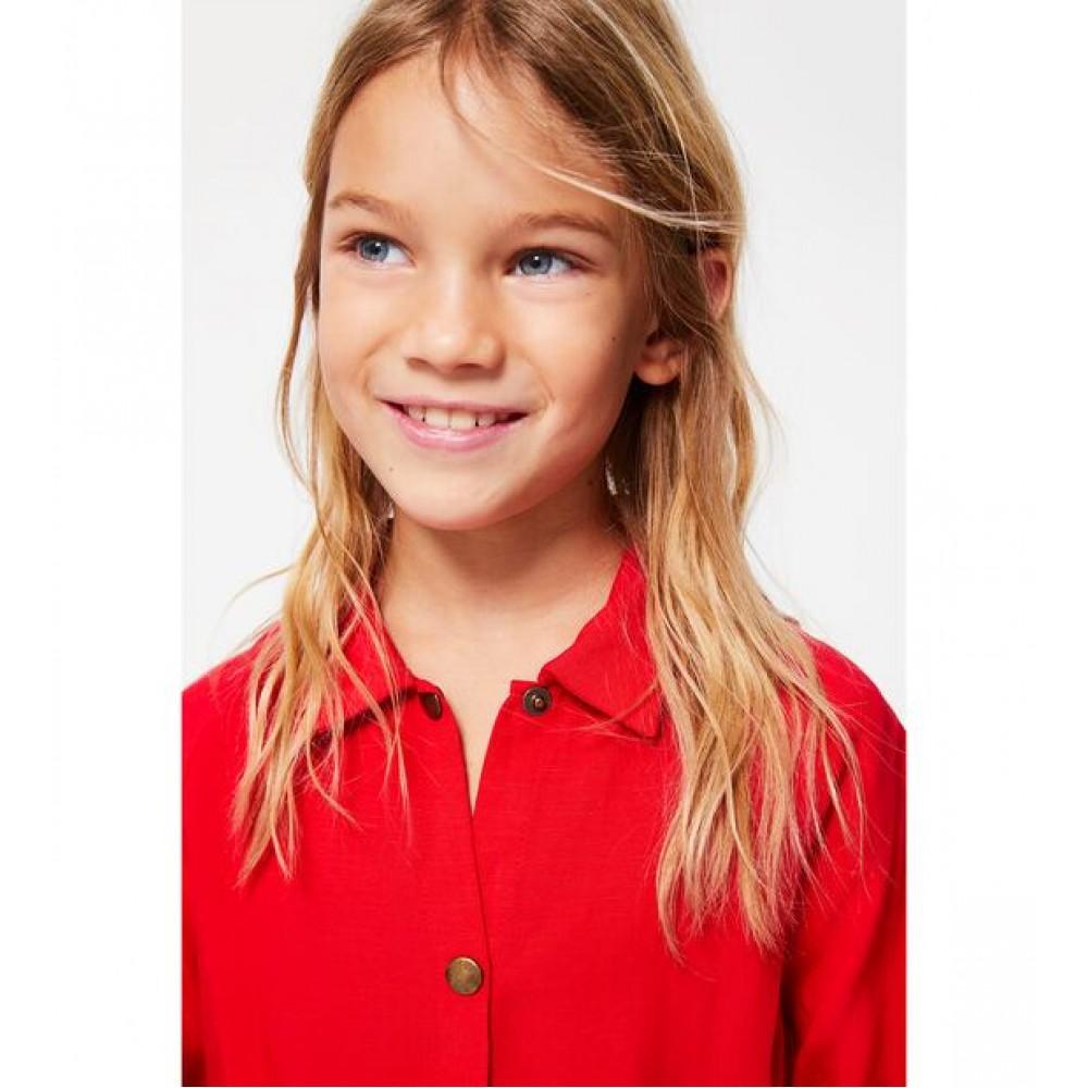 Zara Long Shirt With Buttons