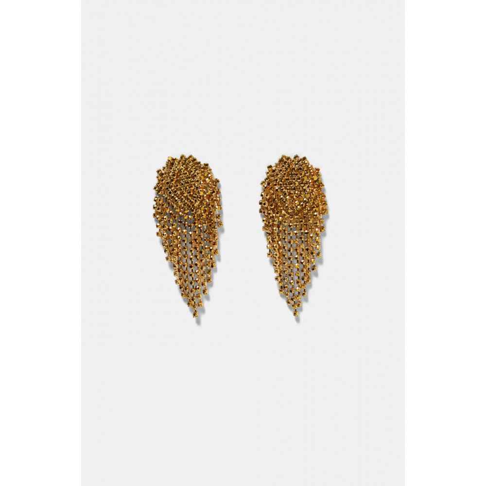 Zara Golden Dangle Earrings