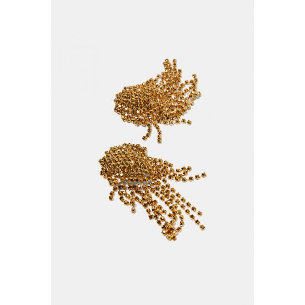 Zara Golden Dangle Earrings