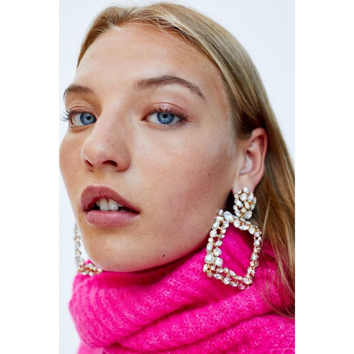 Zara Rectangle Earrings