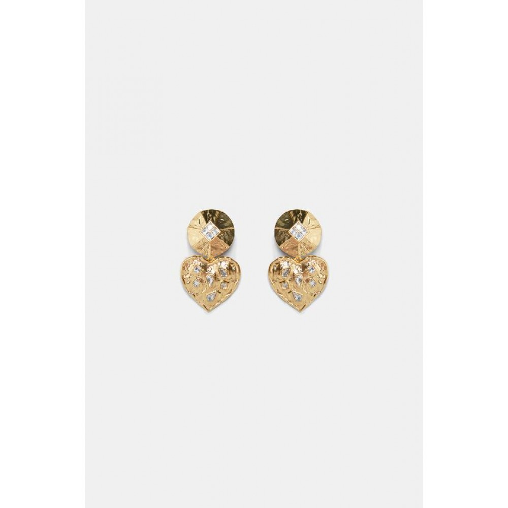 Zara Heart Earrings