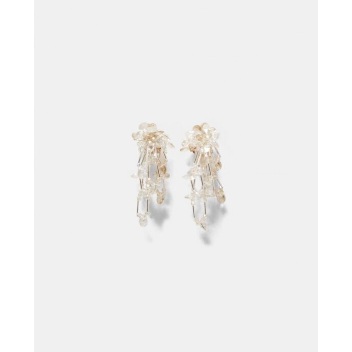 Zara Crystal Teardrop Earrings