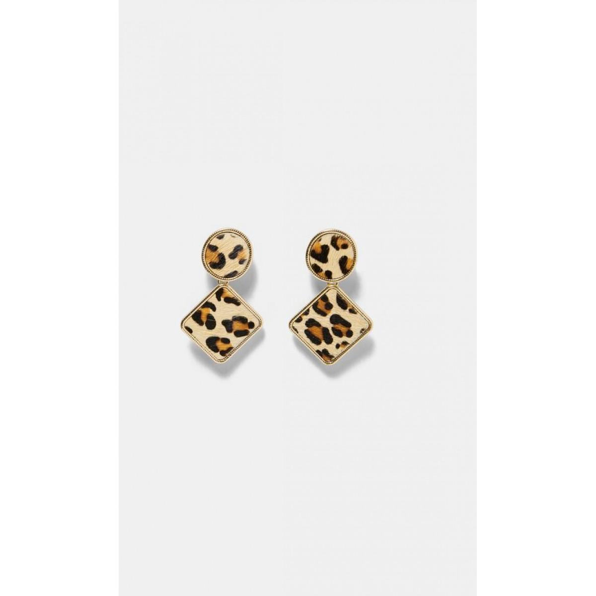 Zara Leopard Print Earrings