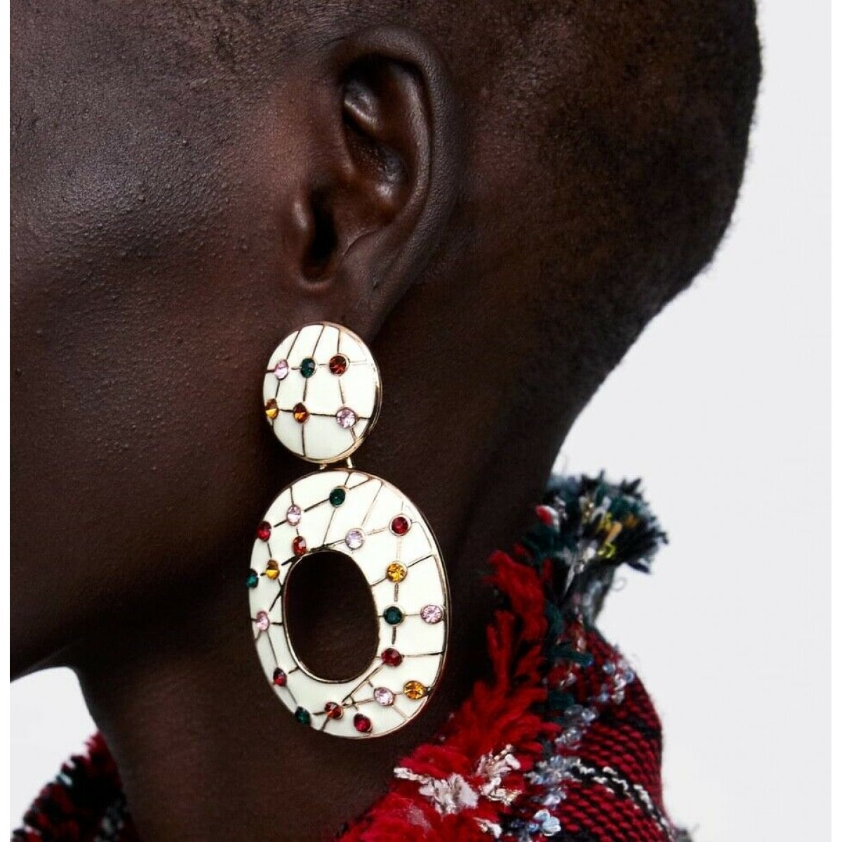 Zara Circular Earrings