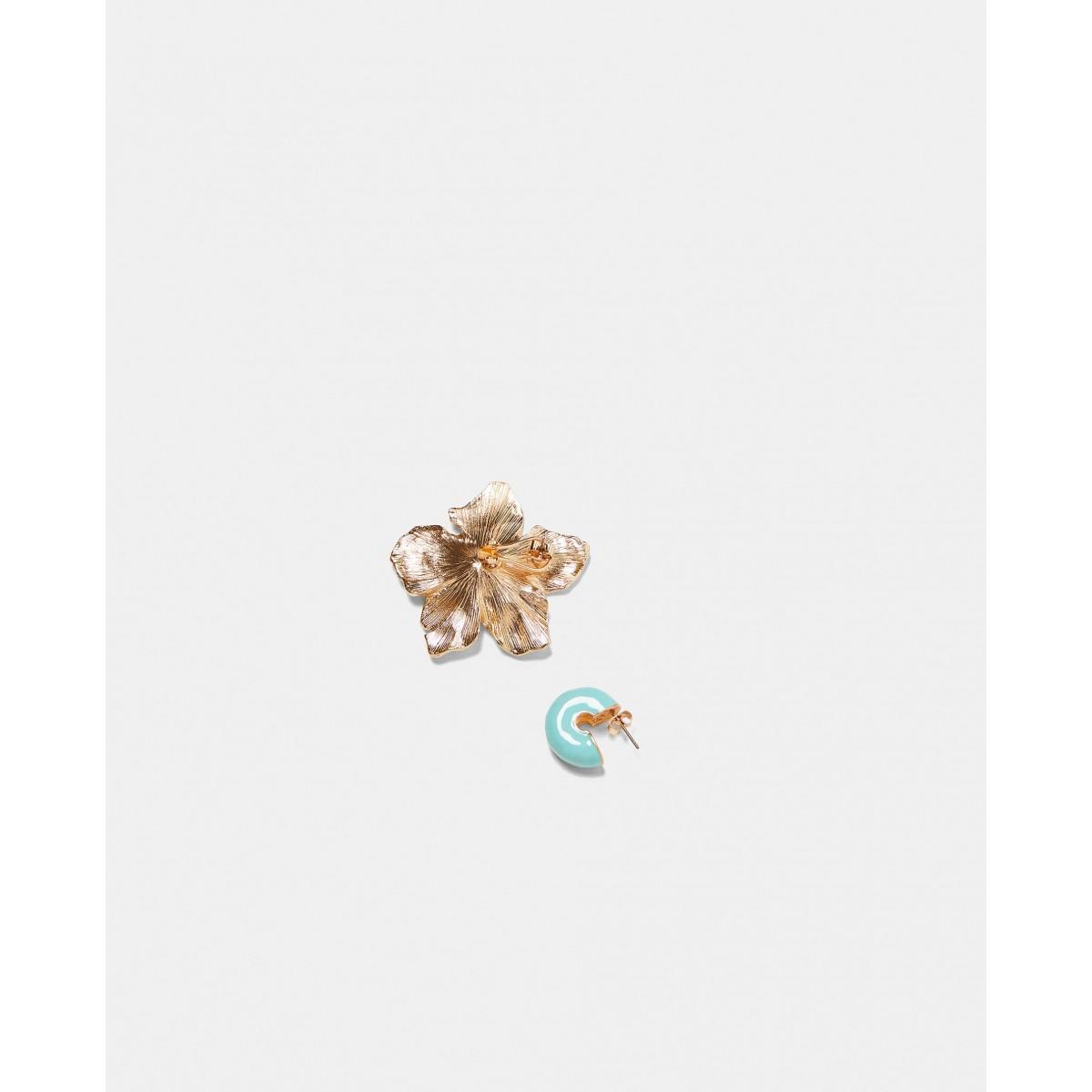 Zara Pack of Flower and Hoops