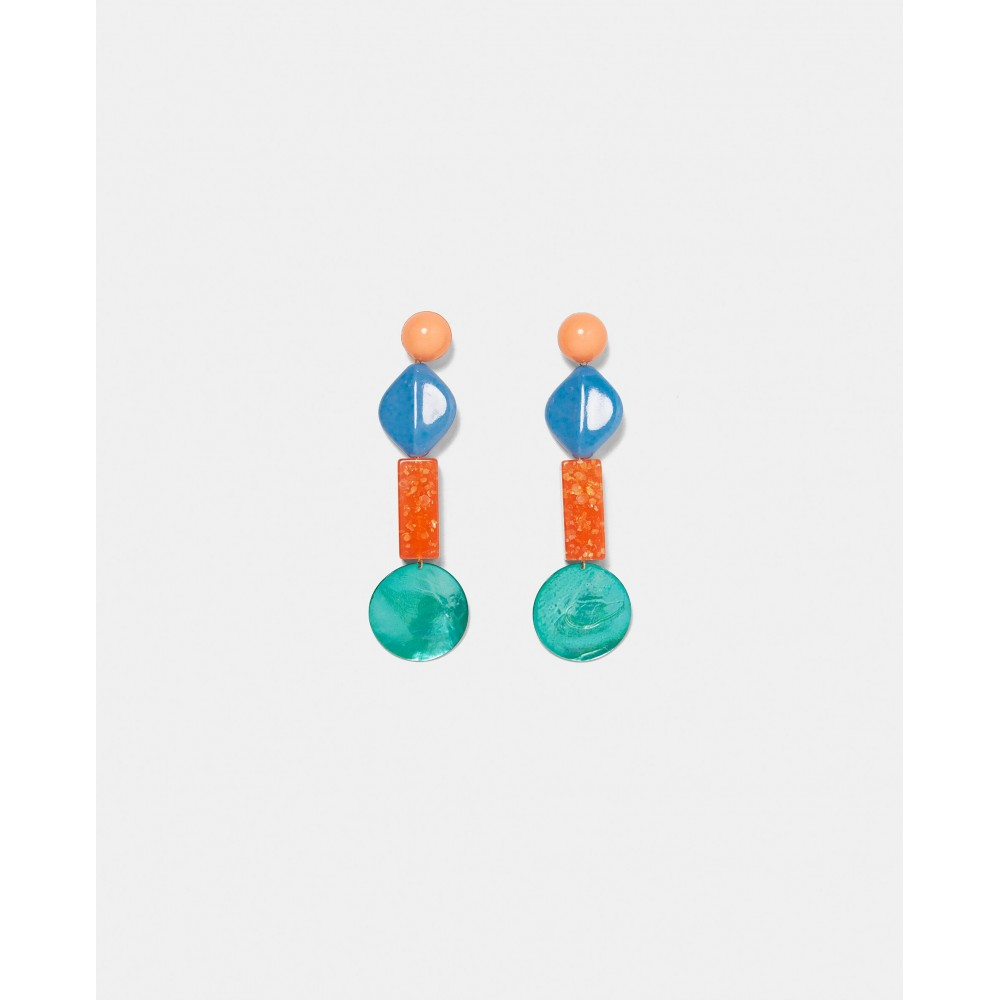 Zara Colourful Resin Earrings