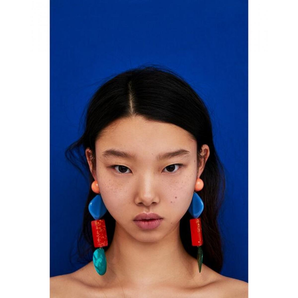 Zara Colourful Resin Earrings