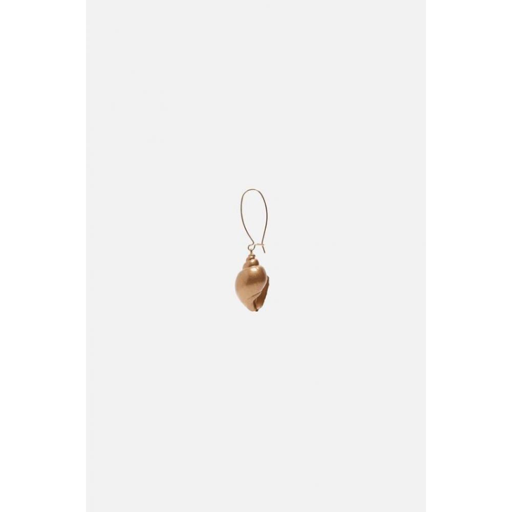 Zara Gold-Toned Seashell Earrings