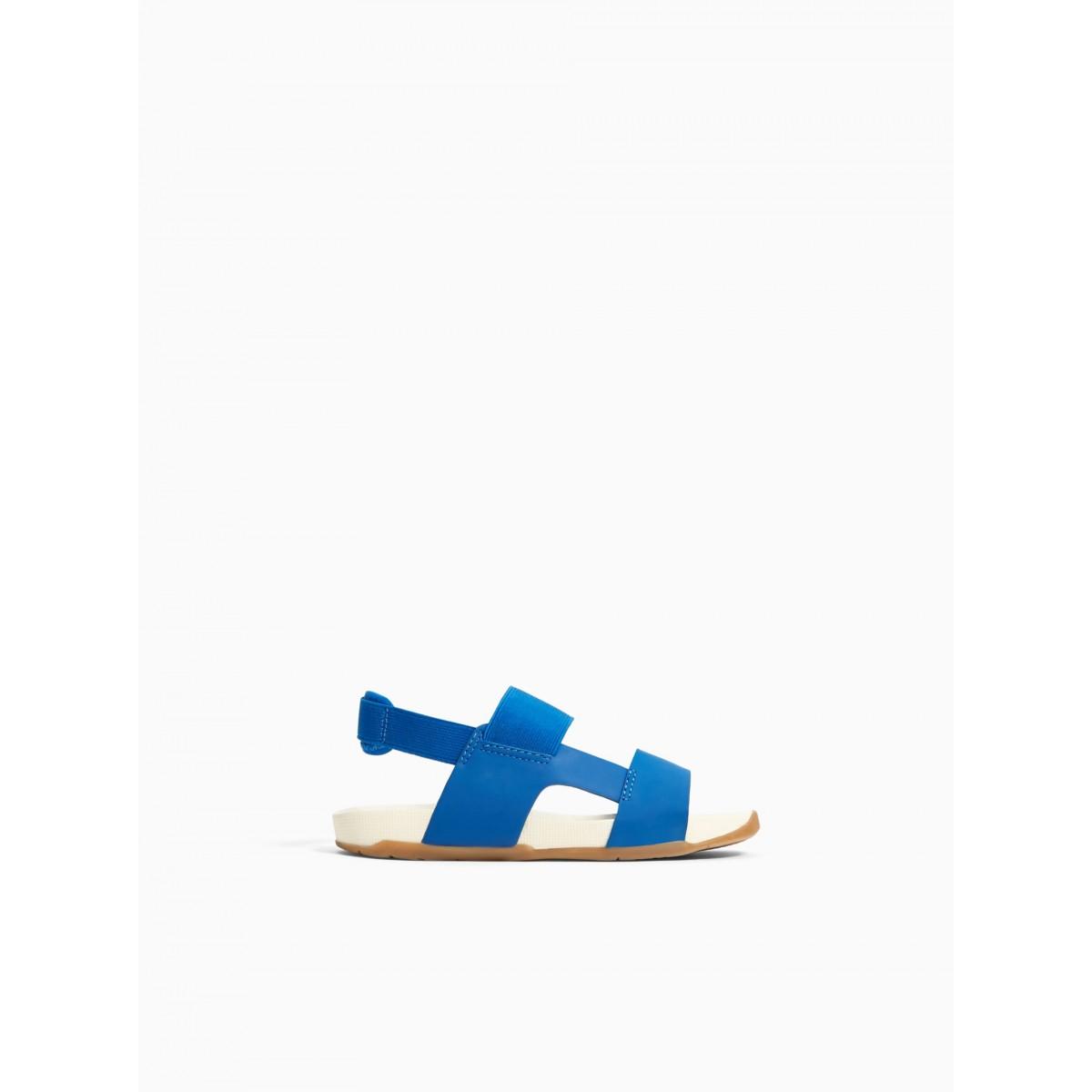 Zara Elastic Strap Sandals