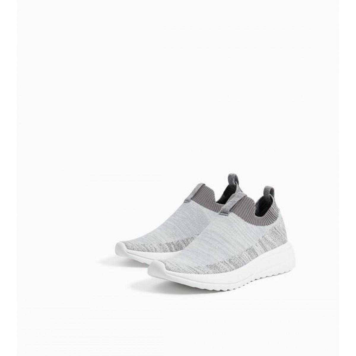 Zara Sock-Style Sneakers