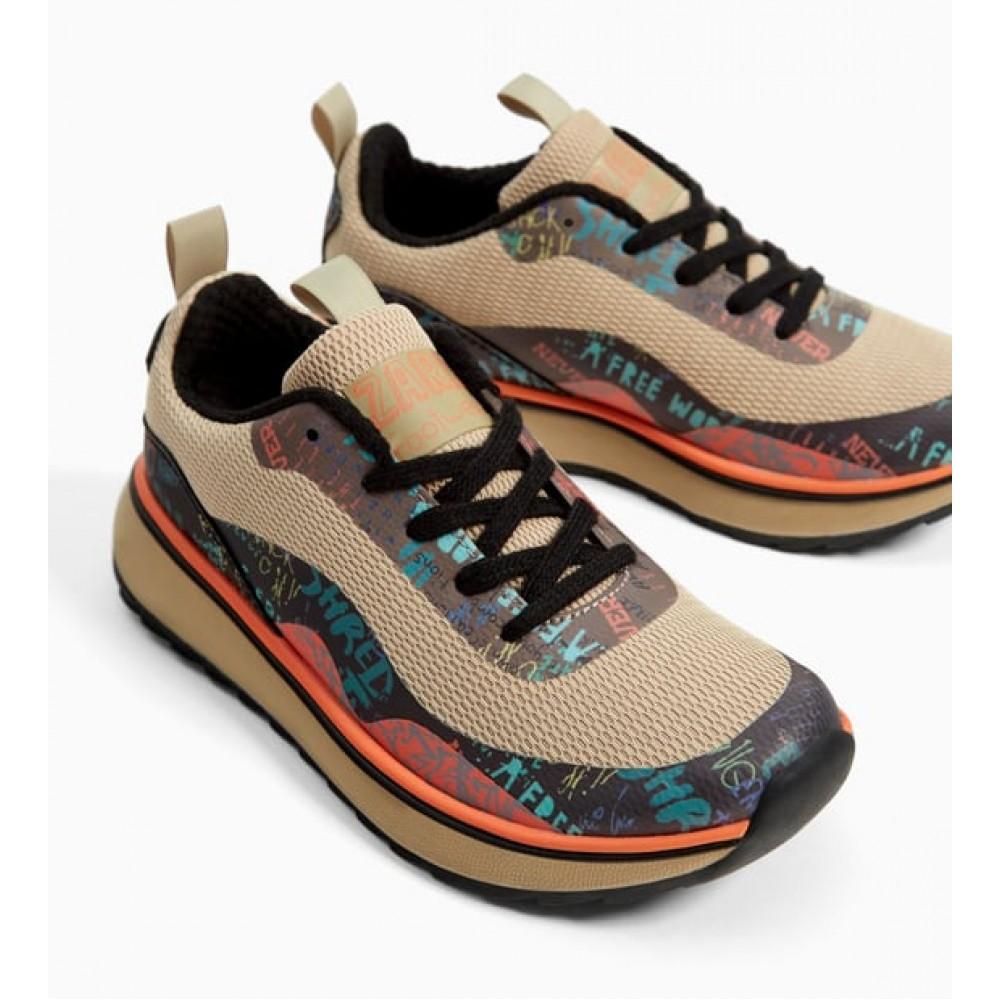 Zara Graffiti Sneakers