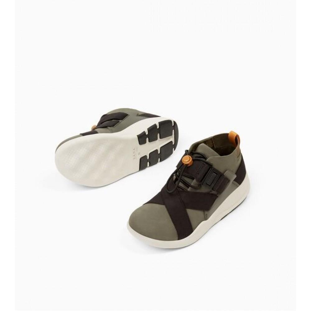 Zara Stretch High Top Sneakers
